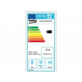 Beko RSSA-250K20W A+ Outlet Egyajtós Egyterű Hűtőszekrény