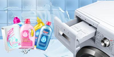 Mit hova kell önteni a mosógép adagolójában?